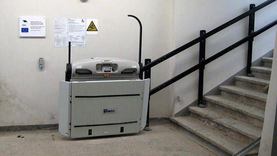 Treppenlift und Sturzrisiko