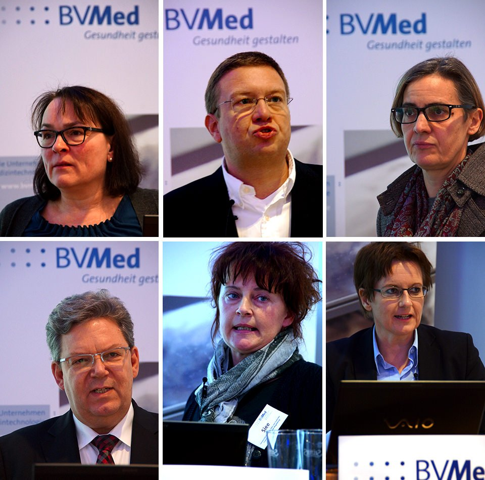 Die Referenten des BVMed-Hygieneforums 2014.