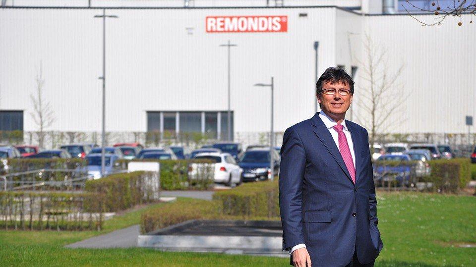 Herwart Willms ist Geschäftsführer der REMONDIS Assets & Services GmbH & Co. KG mit Sitz in Lunen.
