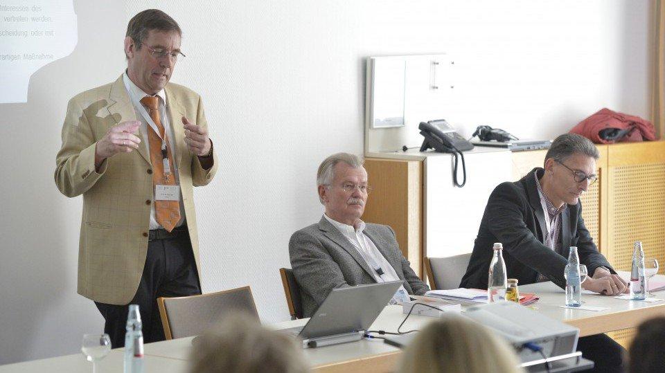 Die Referenten des Satellitensymposiums der BeckAkademie.