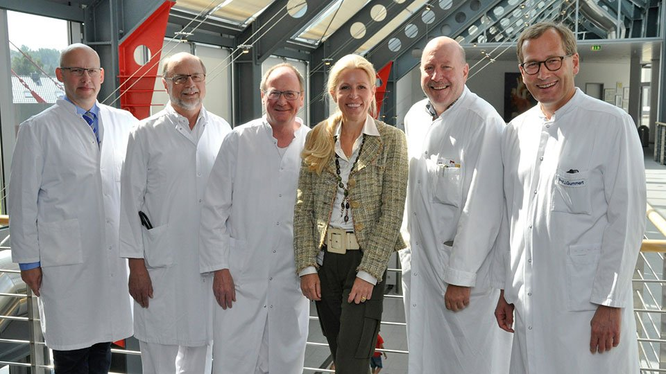 Karin Overlack und Ärzte