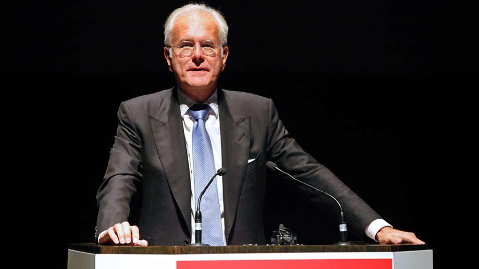 Der Kabarettist, Kolumnist und Moderator Harald Schmidt übernahm erneut die Schirmherrschaft über die Veranstaltung.