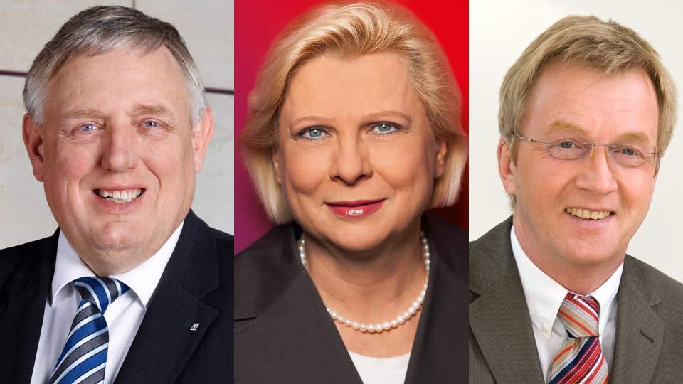 Karl-Josef Laumann, Heide Mattheis, Andreas Westerfellhaus