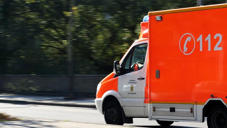 Schlaganfall, Krankenwagen
