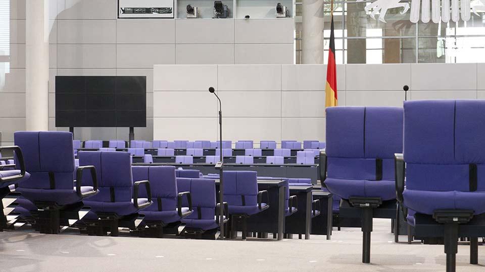 Bundestag, Hilfsmittel