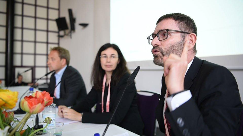 Christian Peter, Dr. Maria-Luise Plank und Prof. Dr. Volker Großkopf.