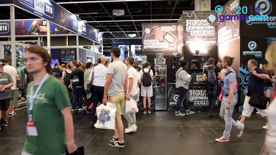 Blick in die Gamescom 2016