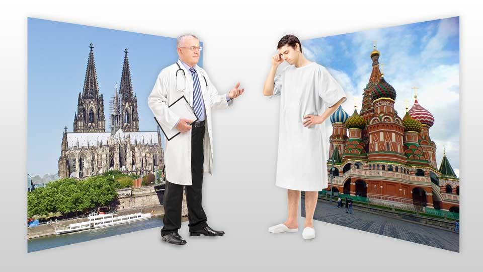 Patientenvermittlung aus Russland: NordMedi hilft bei Reisen zum ...