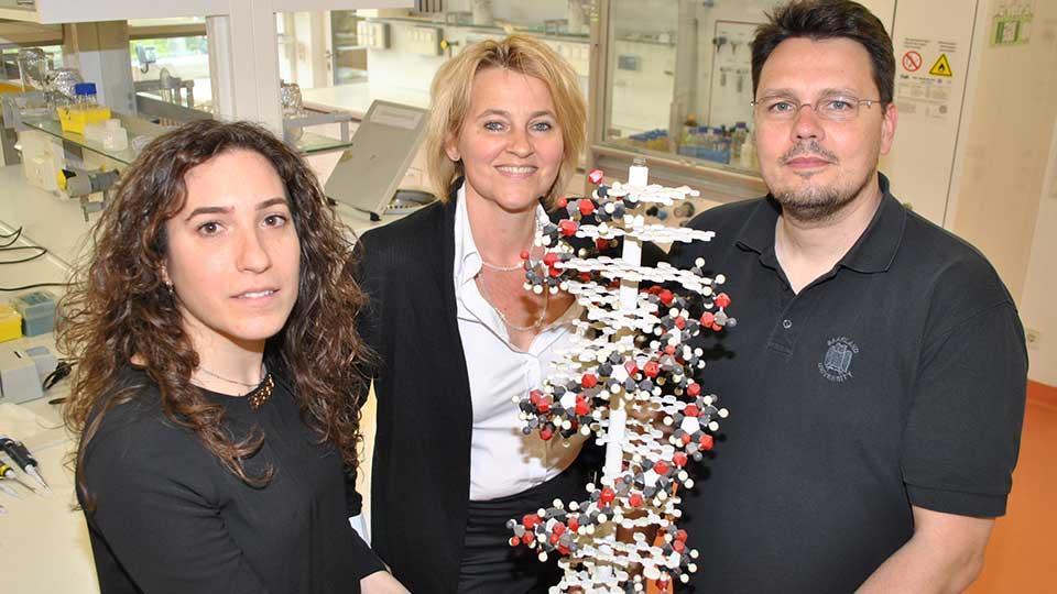 Forscher, Krebs, Hefe