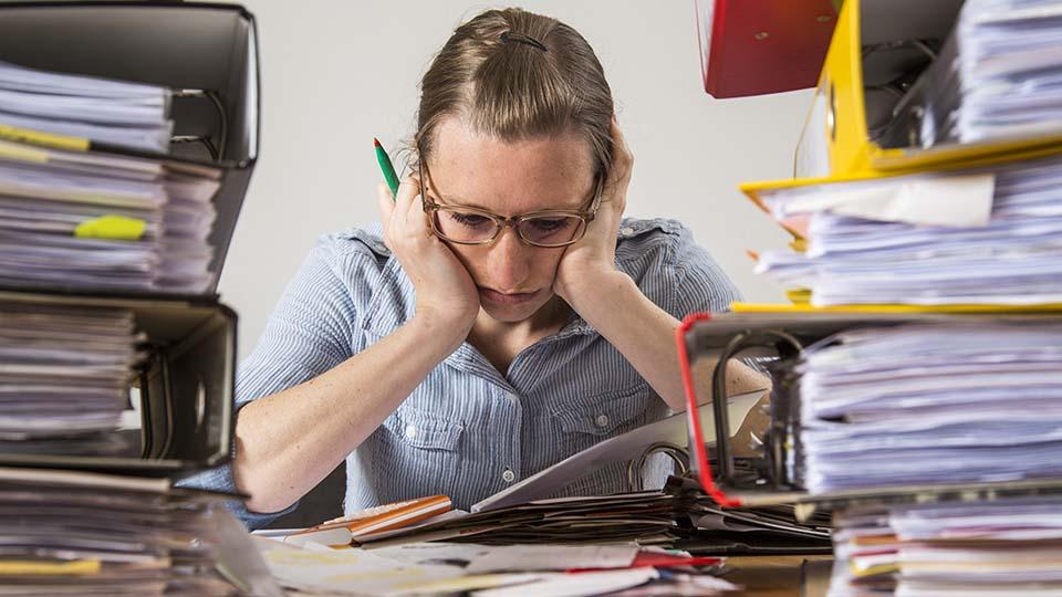 Lebenskrisen beeinflussen den Berufsalltag.