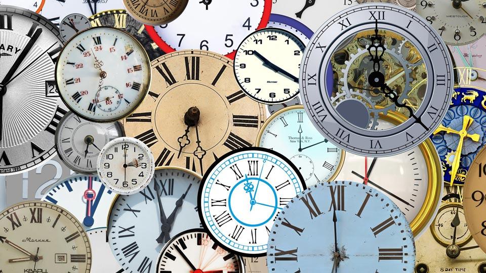 Zeitumstellung von Uhren