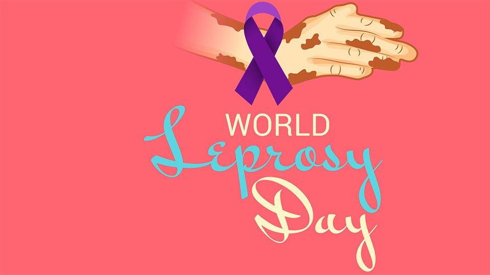 Der Welt-Lepra-Tag wird seit 1954 immer am letzten Sonntag im Januar begangen.