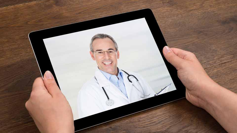 In naher Zukunft kann die Visite beim Arzt online geschehen