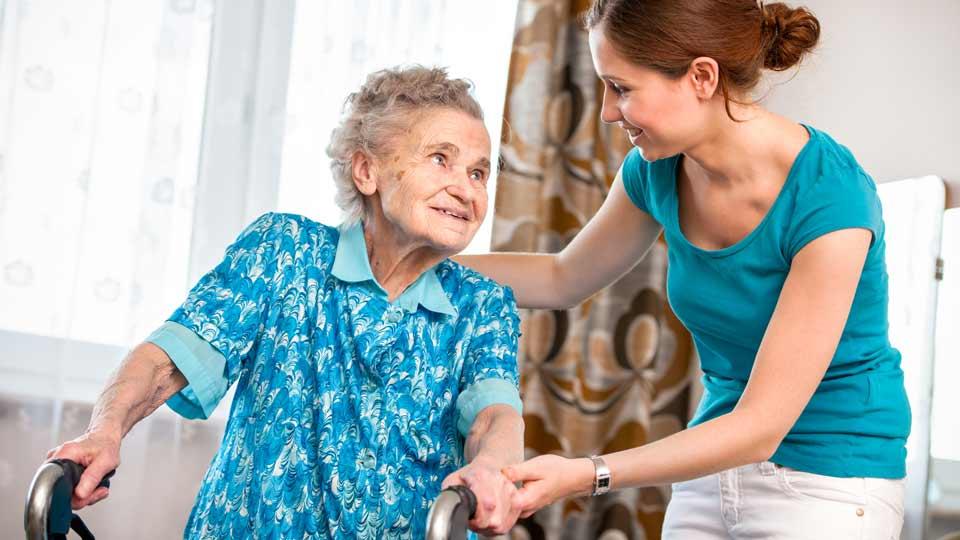 Pflegebedürftige werden oft zuhause versorgt