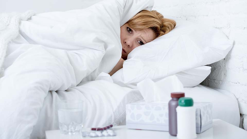 Grippewelle in Deutschland.