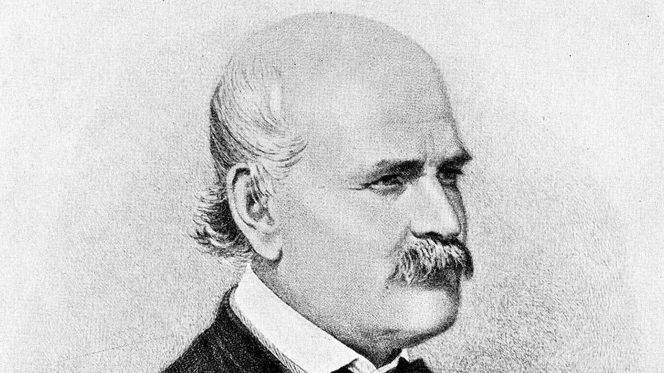 Ignaz Philipp Semmelweis (1818-1865).