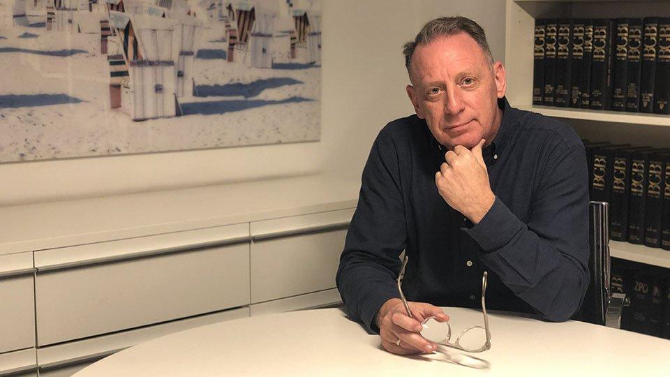 Michael Schanz, Jurist und Chefredakteur der Rechtsdepesche für das Gesundheitswesen.