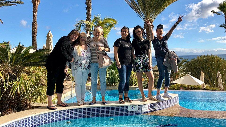 Teilnehmerinnen der Winterakademie 2019.