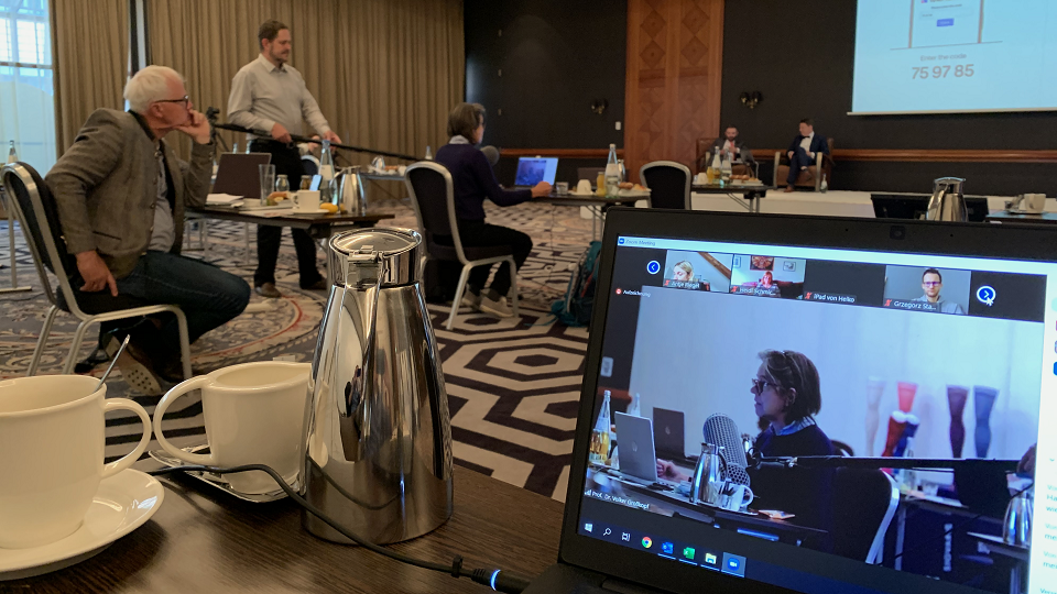 Die TOP Phlebologie in Leipzig hat für die Teilnehmer und Teilnehmerinnen virtuell, live und interaktiv stattgefunden.