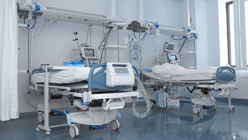 Klinikbetten (Symbolbild)